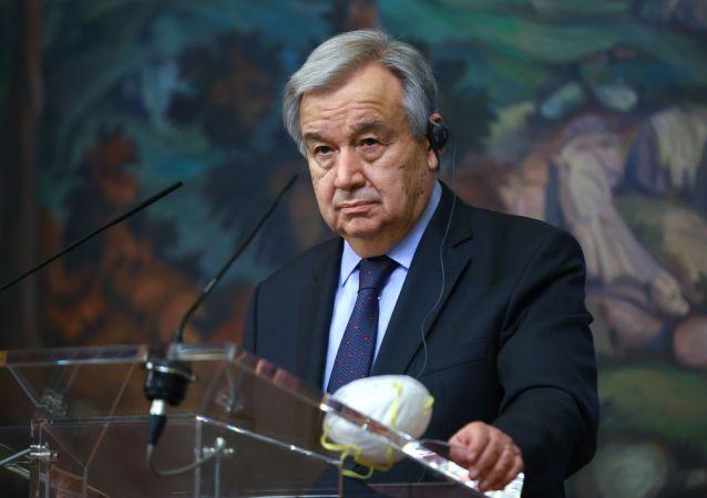 聯合國秘書長:世界應聯合起來生產並分配新冠疫苗
