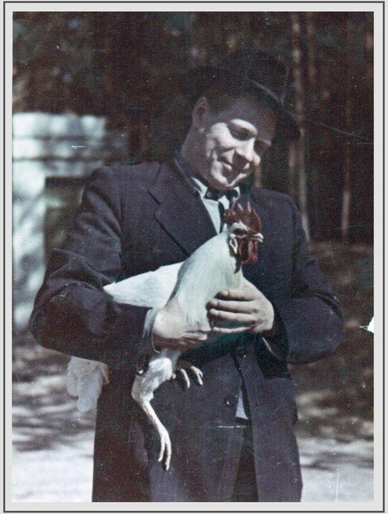 蘇聯元帥、兩次獲得「社會主義勞動英雄」稱號、「蘇聯英雄」德米特里•費奧多羅維奇•烏斯季諾夫在莫斯科郊外的別墅中,照片拍攝於20世紀50年代。