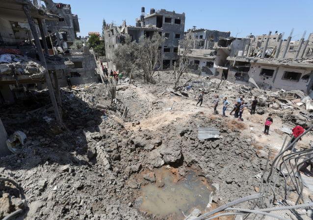 以军袭击哈马斯政治局局长辛瓦尔在加沙地带的住所