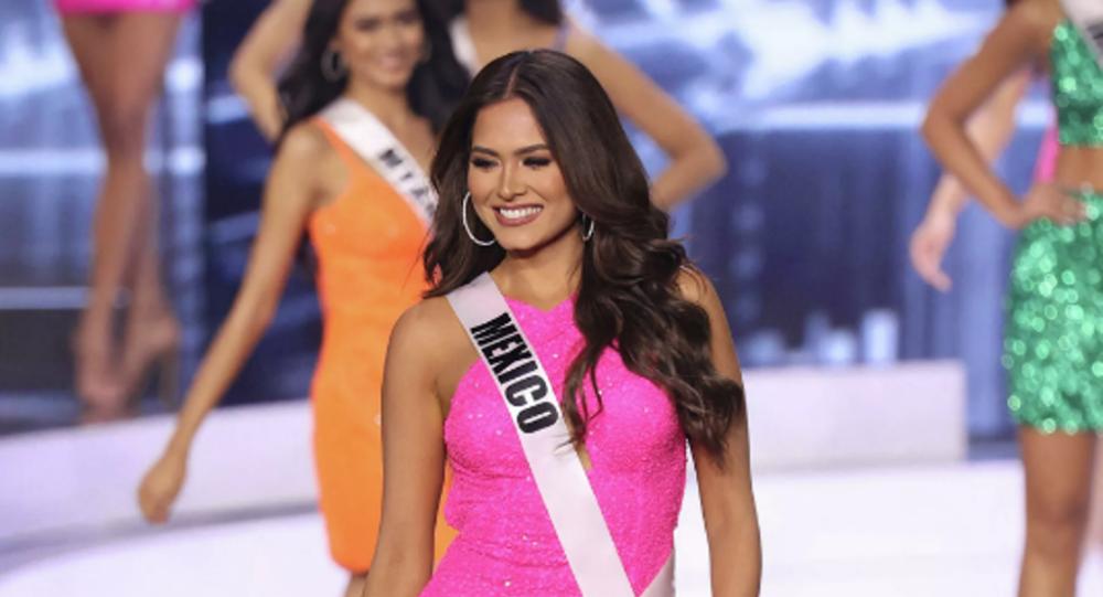 墨西哥佳丽当选环球小姐