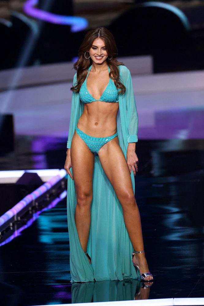 尼加拉瓜小姐安娜•馬塞洛在決賽中。