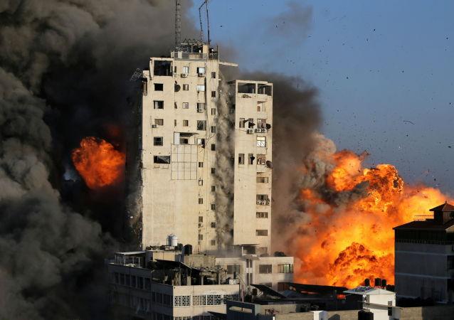 俄外交部:莫斯科歡迎以色列和巴勒斯坦停火