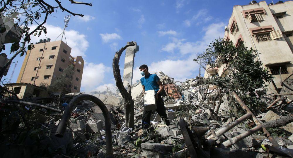 在加沙的行動
