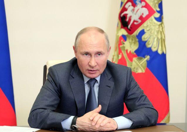 普京簽署法令暫時禁止極端主義活動參與者參加選舉