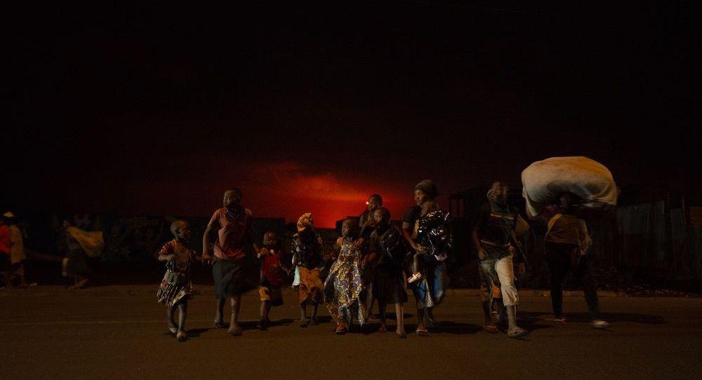 联合国人道主义事务协调厅:受火山喷发威胁 刚果(金)有约40万人需要撤离