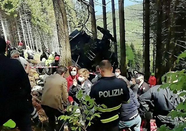 媒體:意大利纜車事故遇難者中有三名以色列人