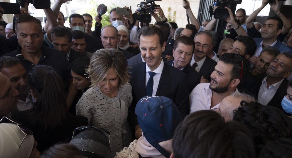 普京祝贺阿萨德再次当选叙利亚总统