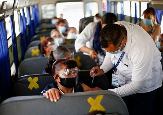 墨衛生部:墨西哥已接種超3000萬劑新冠疫苗