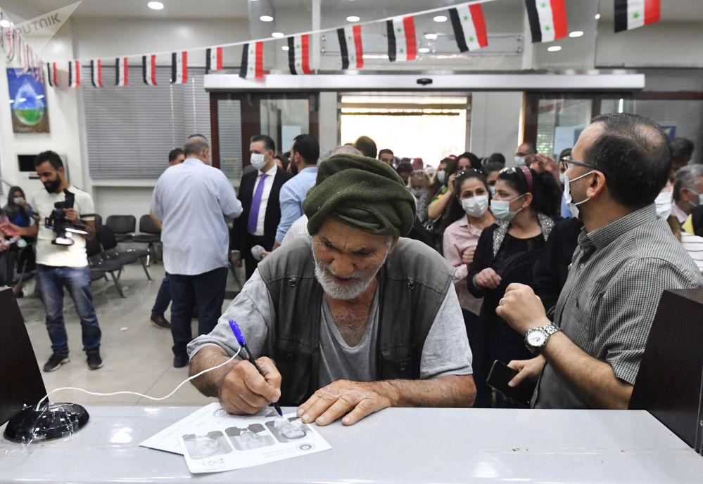 叙利亚举行总统选举。