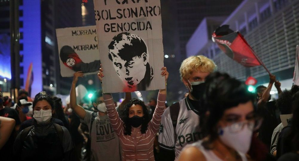 媒體:巴西幾乎全國舉行反政府集會