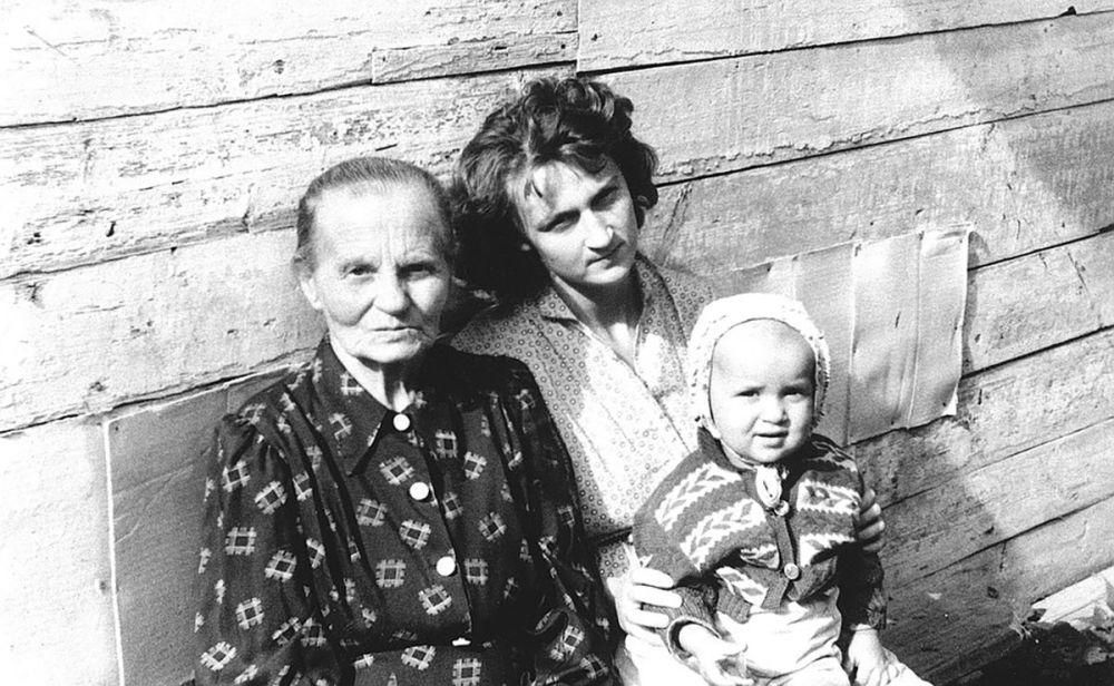 小时候的俄罗斯总统弗拉基米尔•普京。