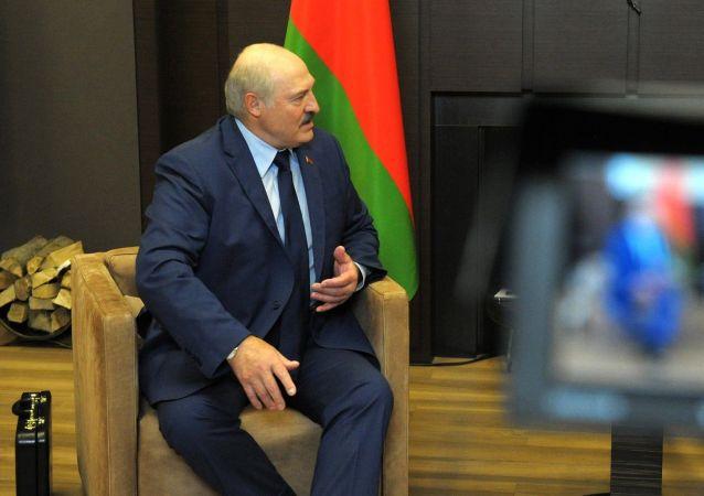 白俄總統稱與俄總統會面時帶去特工部門關於聯盟國家的材料
