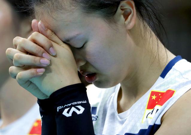 中国女排队员张常宁