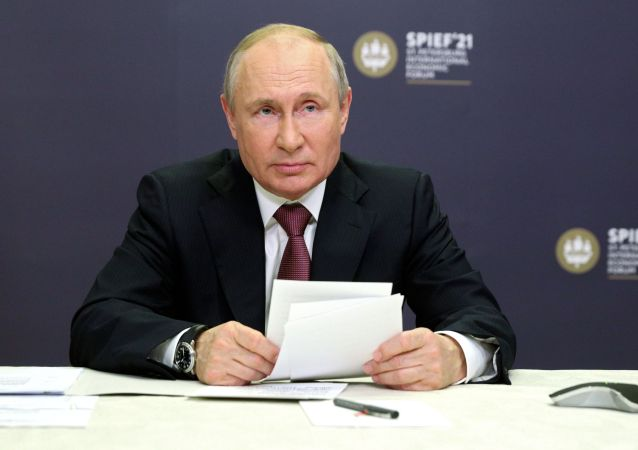 普京将在圣彼得堡国际经济论坛上发表讲话