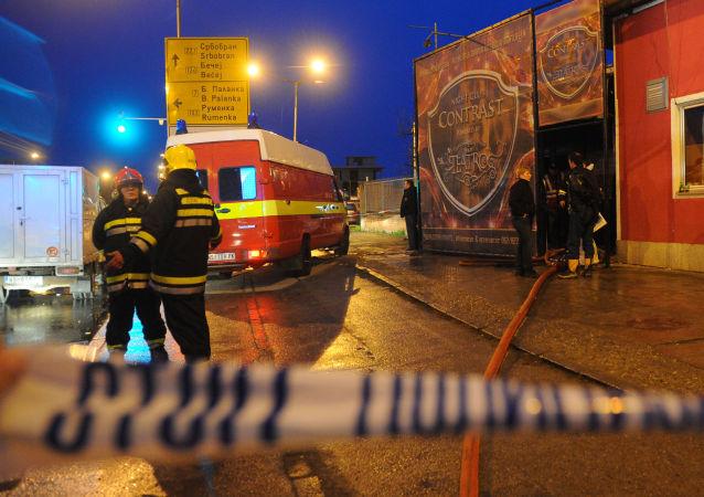 媒体:塞尔维亚一家国防工厂发生一系列爆炸