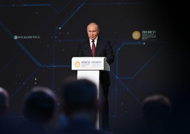 普京:俄中年贸易额可达2000亿美元