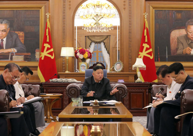 金正恩召開朝鮮勞動黨幹部會議探討下半年的經濟政策