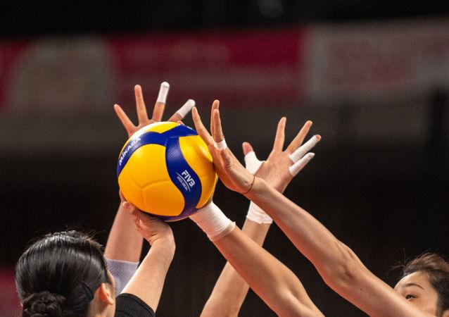 中国女排在2021年世界女排联赛遭遇4连败 资料图
