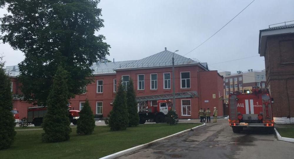 俄梁赞医院火灾可能因呼吸机起火或短路引起