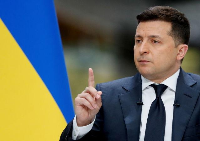 乌克兰总统弗拉基米尔·泽连斯基