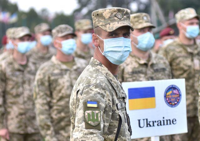 烏克蘭與英國「哥薩克之錘」軍演在烏拉開帷幕