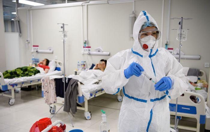 俄防疫指挥部:俄单日新增新冠病毒感染病例17262例 累计超528.1万例