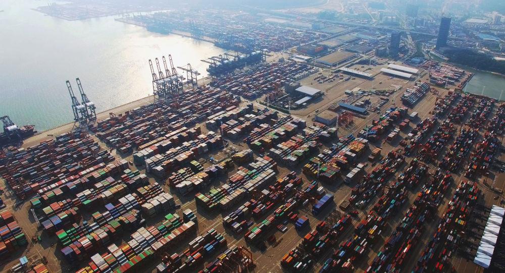 中国海关总署:中国前三季度货物贸易进出口总值28.33万亿元 同比增长22.7%