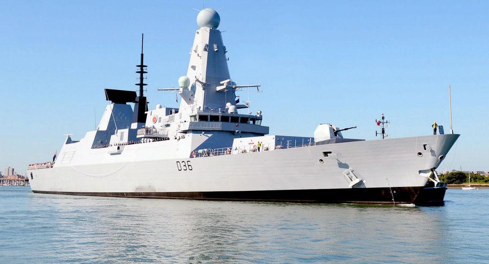 """英国""""保卫者""""号驱逐舰"""