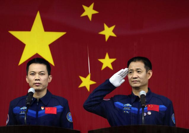他们将是首批建造中国空间站的宇航员