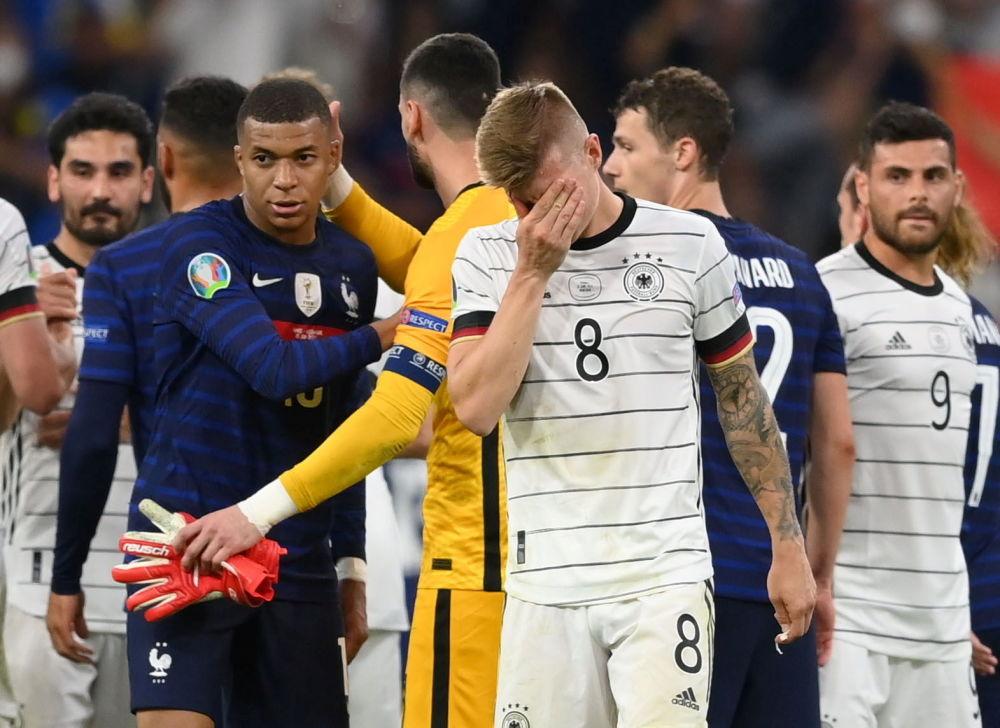 2020年欧洲杯德法大战中的精彩瞬间