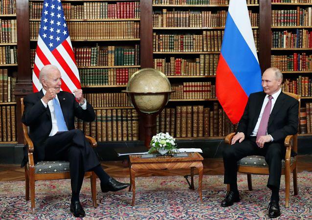 普京希望俄美关系能够走向正常化