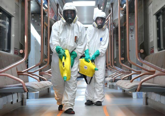 俄防疫指挥部:俄单日新增新冠病毒感染病例19905例 累计超723.4万例