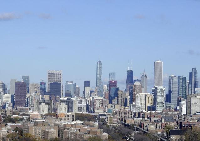 美國芝加哥及城郊遭遇強風暴致超過3.5萬用戶斷電