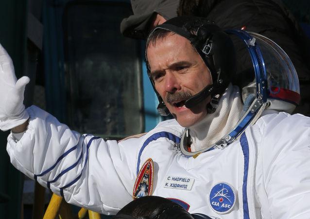加拿大宇航员克里斯·哈德菲尔德