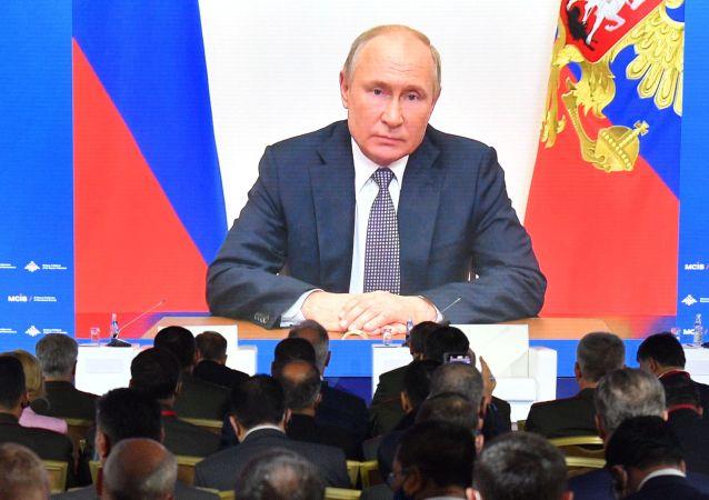 普京:大规模杀伤性武器扩散风险引发严重关切