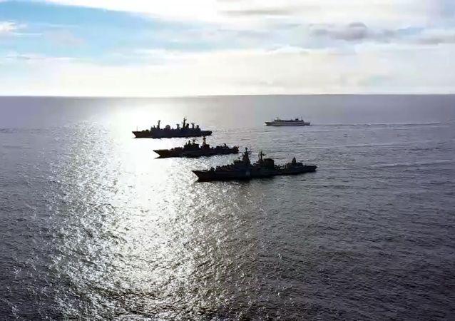 俄國防部:3架圖-95和2艘戰艦在太平洋演練假想攻擊