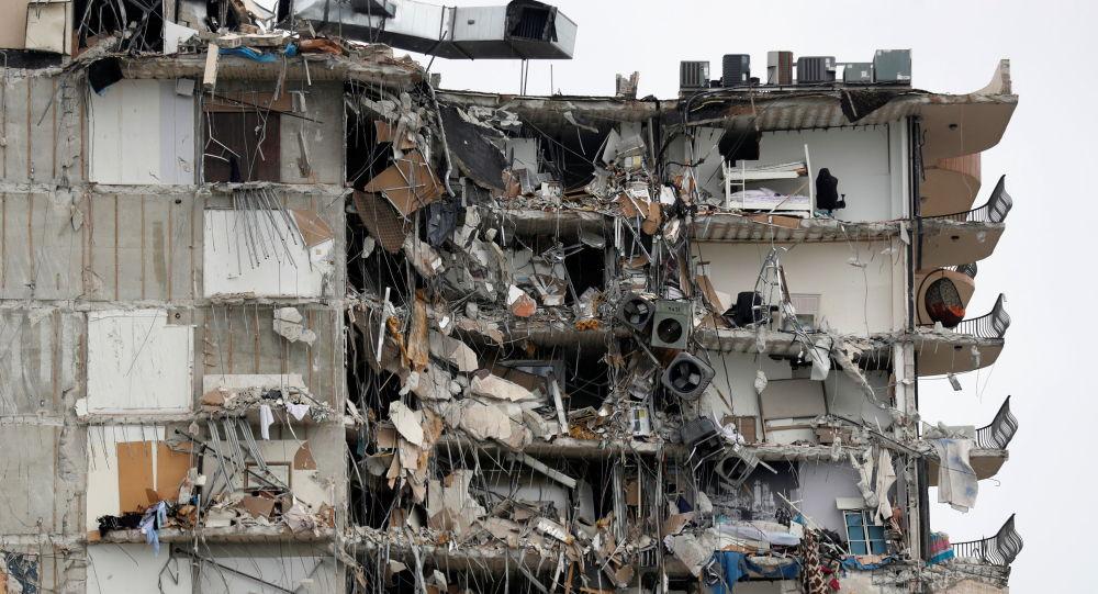媒体:美国佛罗里达州楼房坍塌受害者将获得1.5亿美元赔偿