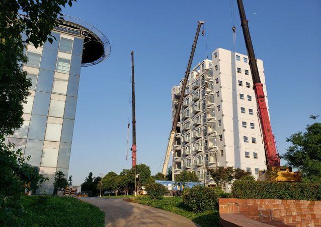 远大可建科技公司:活楼具有占领全球市场的巨大活力