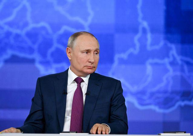普京:單極世界的時期已過去 俄羅斯在發展