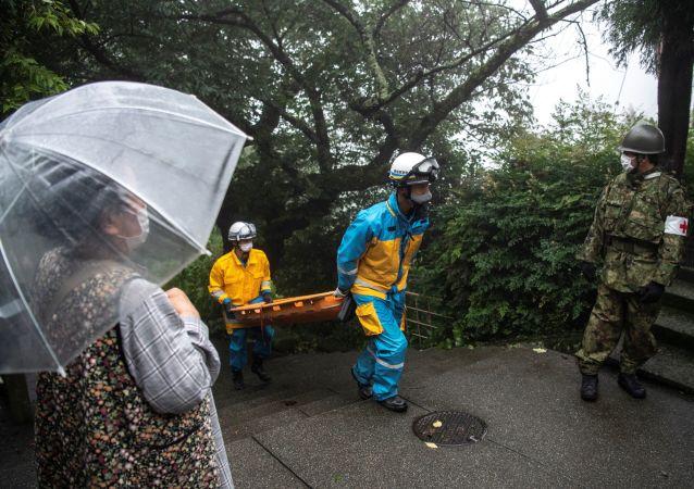 日本首相:19人在日本发生强烈山体滑坡后获救