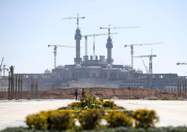 建設中的埃及新首都