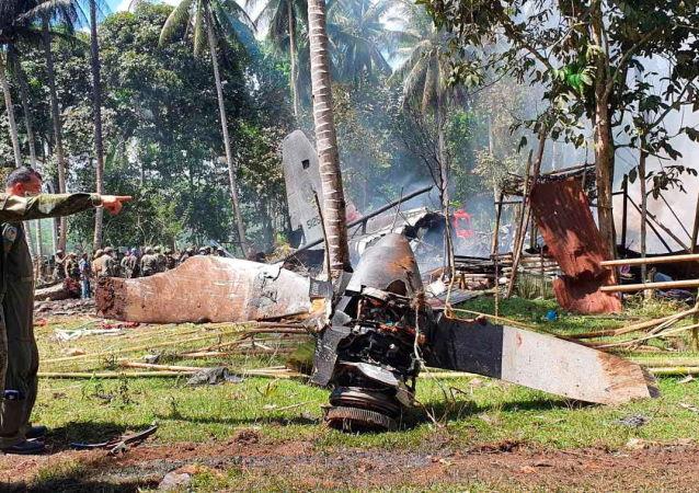 菲律賓武裝部隊總參謀長:已找到墜毀軍機的「黑匣子」