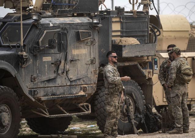 美國軍人在敘利亞