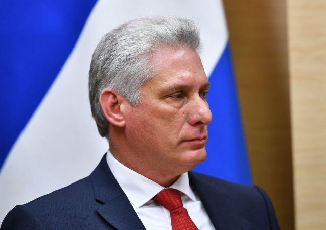 古巴國家主席在與普京通話時對俄提供的人道援助表示感謝