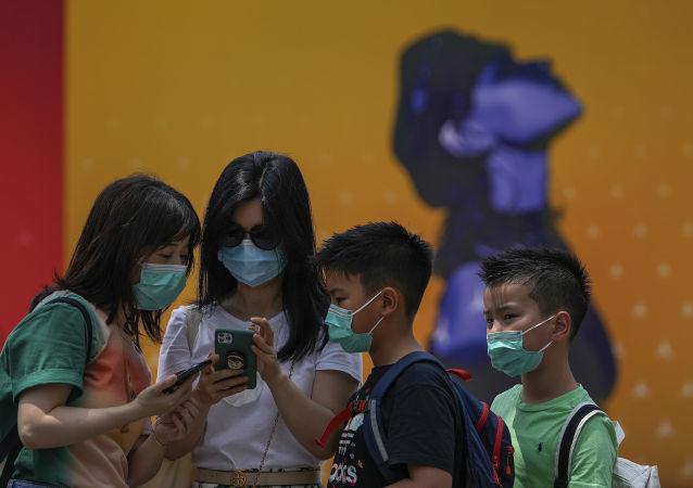 研究:兒童感染新冠病毒後症狀較輕