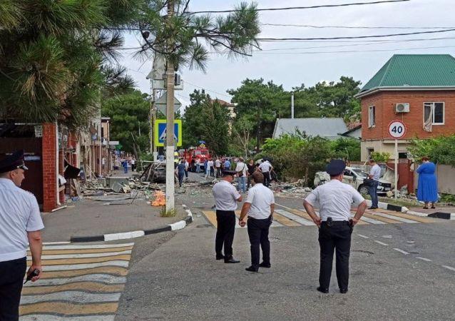 俄克拉斯诺达尔边疆区行政长官:格连吉克与酒店毗邻的商店发生煤气爆炸