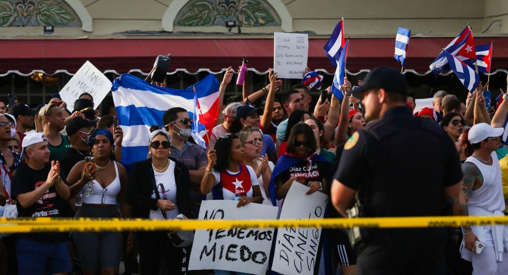 美國財政部對古巴官員和機構實施制裁 中國外交部:堅決反對