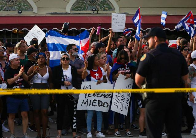 古巴駐華大使館揭露美國操縱「顛覆行動」的內幕
