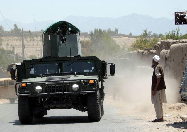 阿富汗政治军方