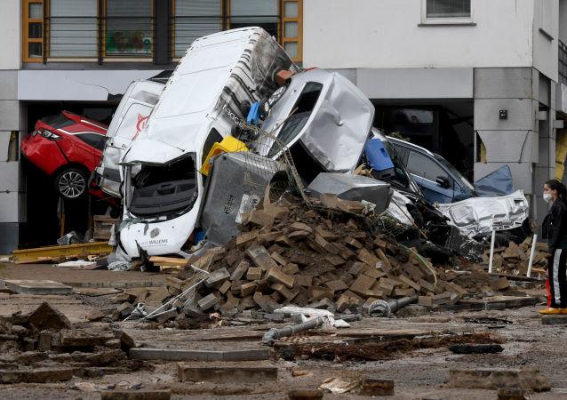 媒體:德國洪災死亡人數達156人